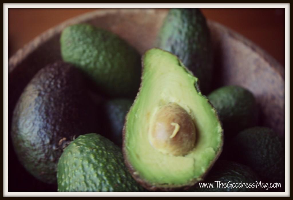 Sensationally easy avocado on toast - Bowl of fresh ripe avocados