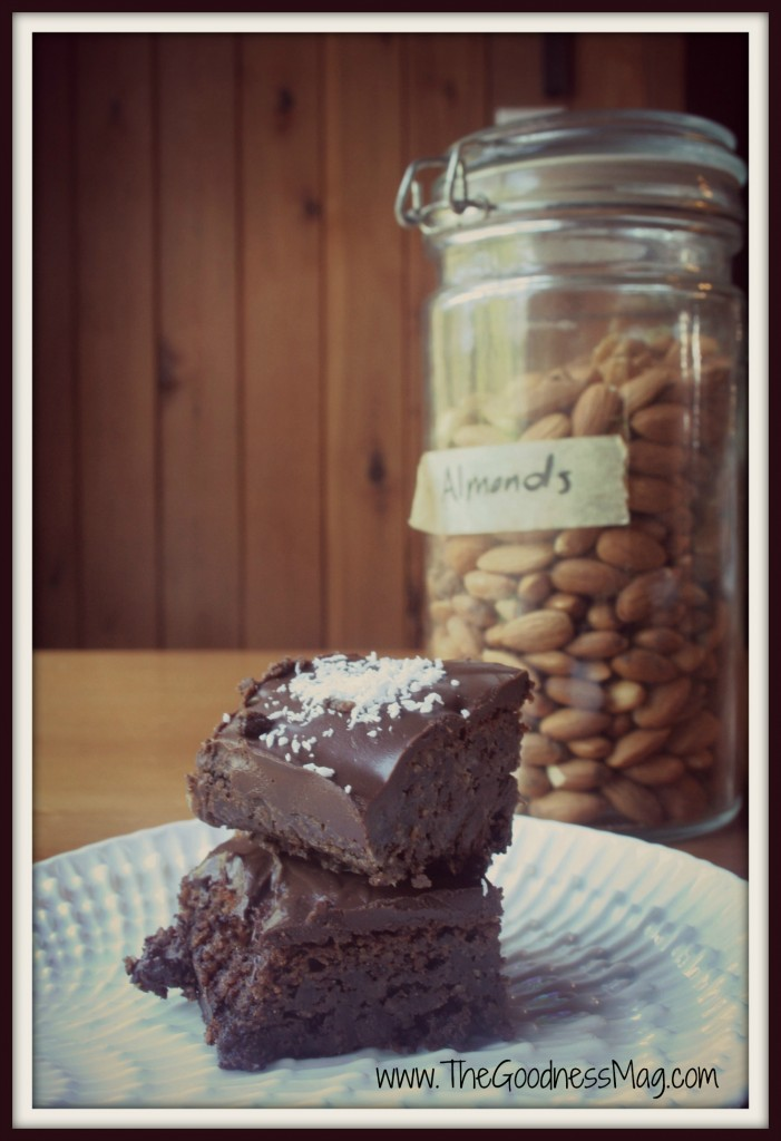 The Goodness Magazine - Gluten free brownies-framed