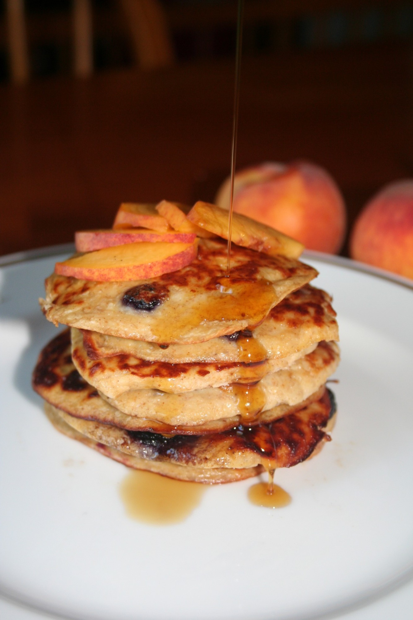 Amazingly healthy banana pancakes