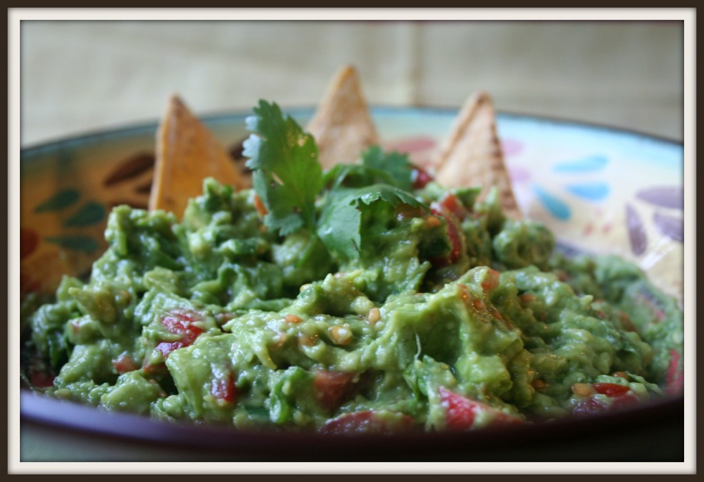 Super delicious avocado guacamole
