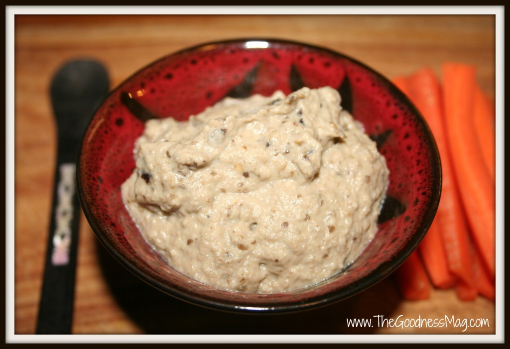 super tasty baba ganoush eggplant dip