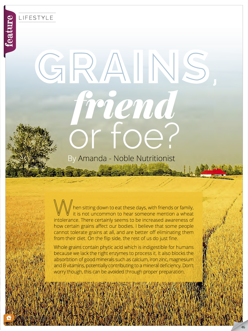 Grain alternatives - are they friend or foe?