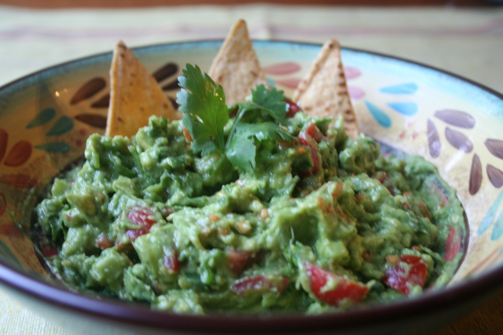 Super Delish Avocado Guacamole