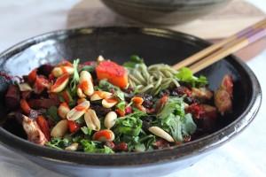 E - Green Tea Soba Noodles Roasted Veg 2