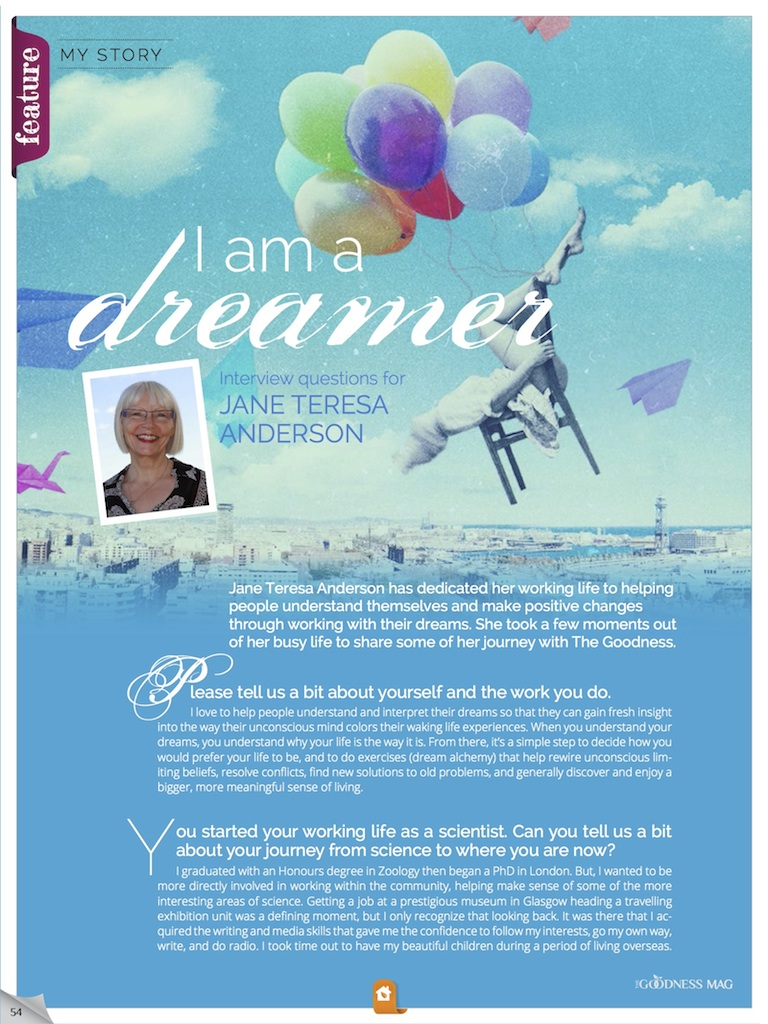 dream alchemy - what your dreams reveal about you