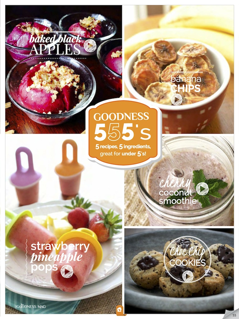 Easy healthy kids recipes