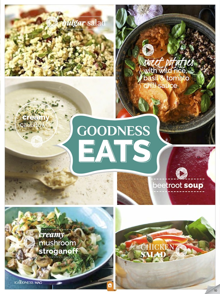 Healthy Meal Ideas - Eats Cover Oct