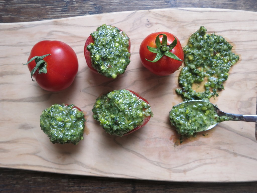 Mint Hemp Pesto – Bite Sized Lunch