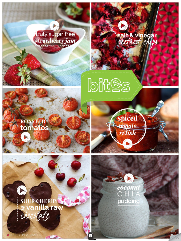 Simple Healthy Bites & Snacks – RED Edition – February 2015