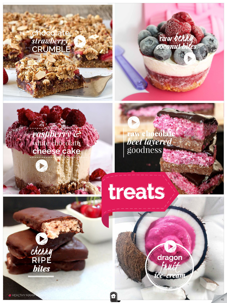 Healthy Sweet Treats – RED Edition – February 2015