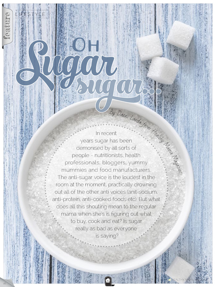 The truth about sugar page
