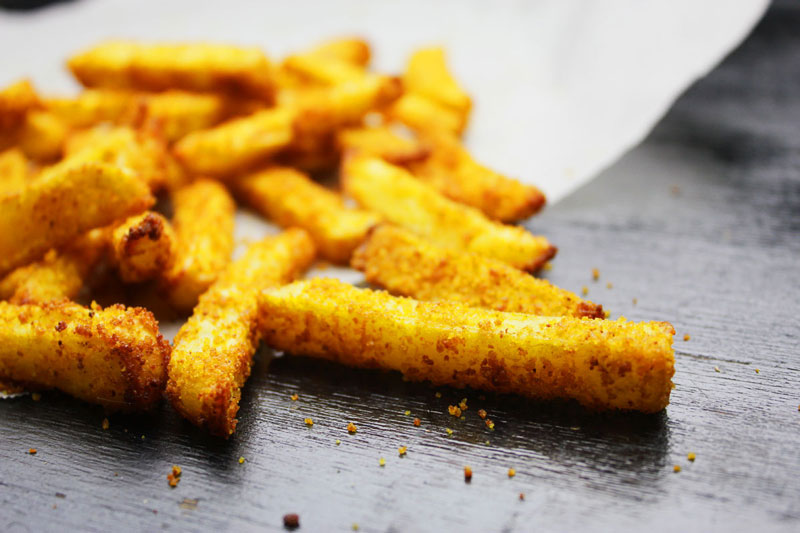 healthy crunchy hot potato chips