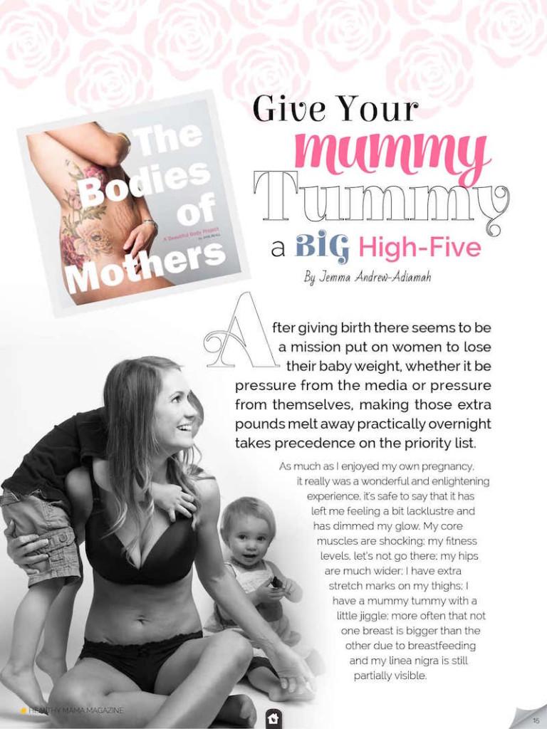 mummy tummy web