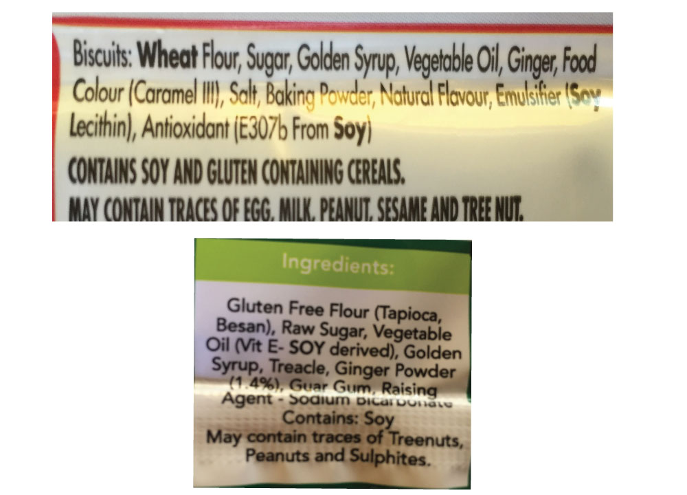 food labels and hidden sugars