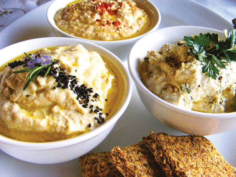 Super Easy Raw Cashew Hummus