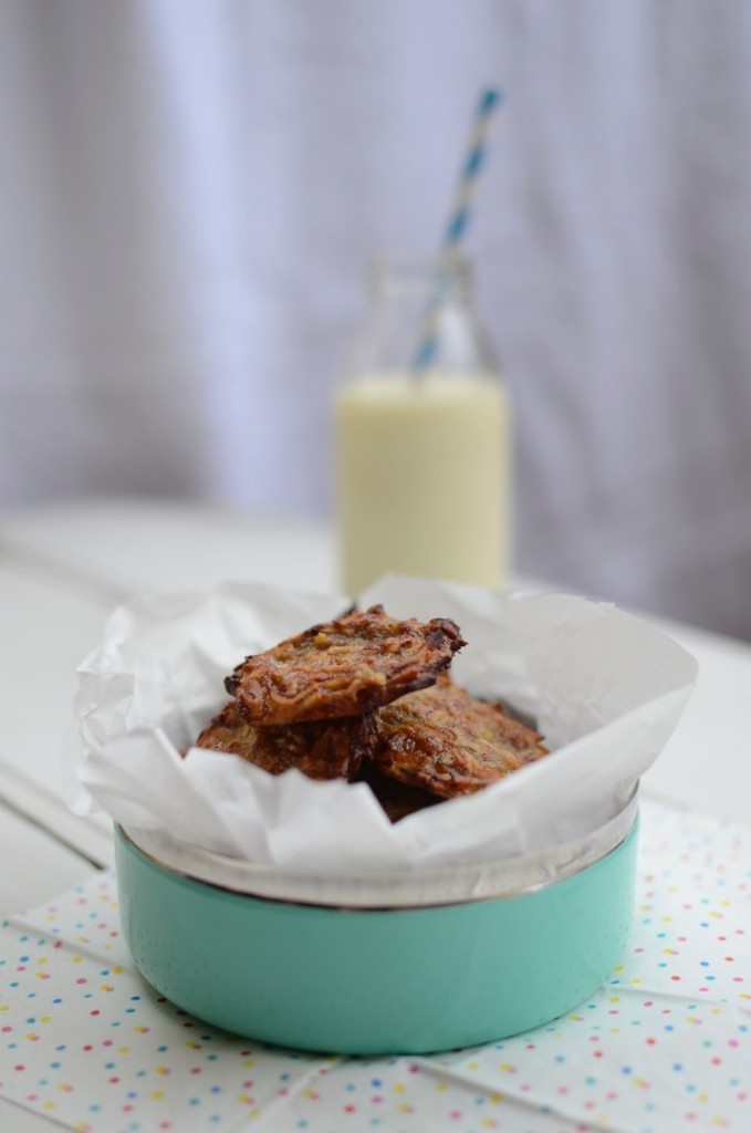 2 Ingredient Banana & Coconut Cookies